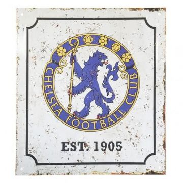 Chelsea FC Retro Logo Sign